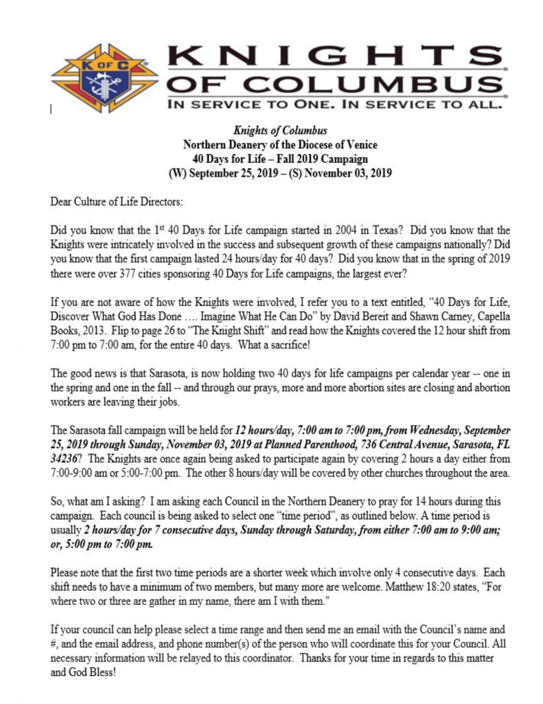Christmas Eve Mass At The Vatican 2020 Knights Of Columbus Knights of Columbus #13639 – Our Lady Queen of Martyrs Catholic Church